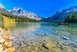 Emerald Lake,Yoho National Park in Canada