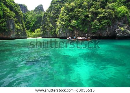 stock photo : Emerald sea in Thailand