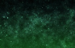 Emerald Sky - Elements of this Image Furnished by NASA