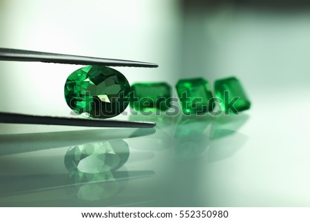 Emeralds and gemstones