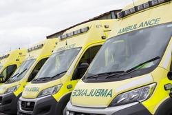 Emergency Ambulance Stationary