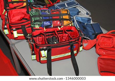 Emergency Bags Kits First Aid and Rescue Equipment Packs #1346000003