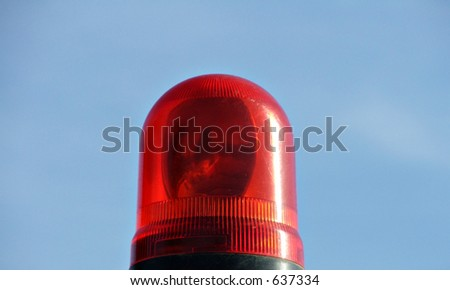 emergency red light