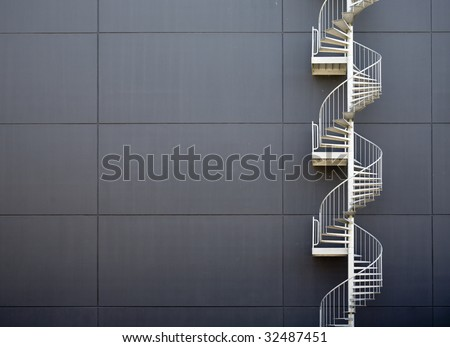 Emergency stairs