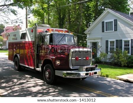 Emergency vehicle.
