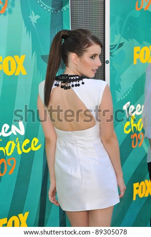 Emma Roberts at the 2009 Teen Choice Awards at the Gibson Amphitheatre, Universal City. August 9, 2009  Los Angeles, CA Picture: Paul Smith / Featureflash