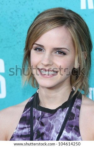 Emma Watson at the 2012 MTV Movie Awards Arrivals, Gibson Amphitheater, Universal City, CA 06-03-12