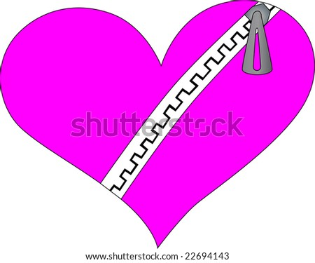 Images Of Emo Hearts. stock photo : Emo heart with