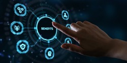 Employee benefits help to get the best human resources. Business concept.