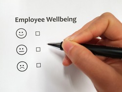 Employee Wellbeing indicator using emoticon
