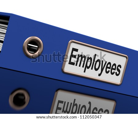 Employees File Containing Employment Records And Documents