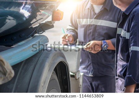 Employers checking drivers for alcohol usage before driving.