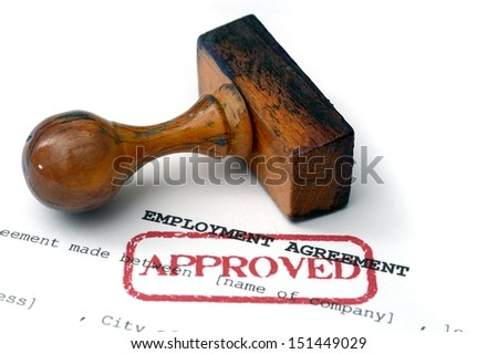 Employment agreement - approved
