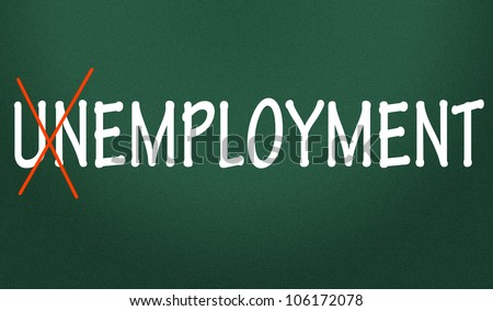 employment symbol - stock photo