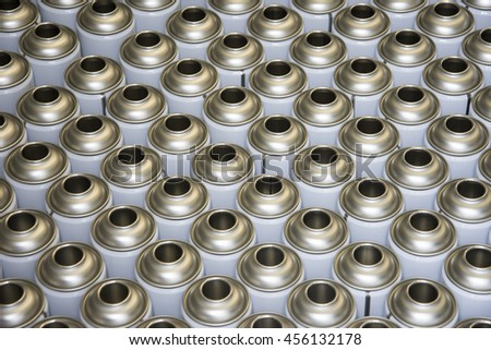Empty Aerosol Cans