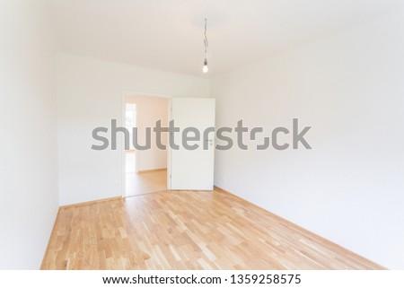 Empty apartment freshly renovated