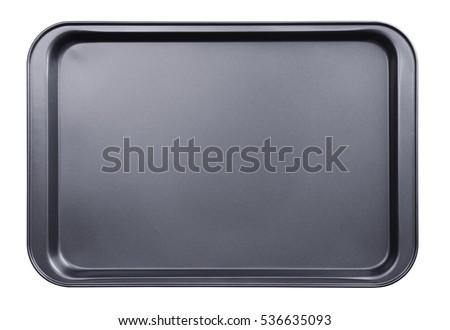 Empty baking tray Foto d'archivio ©
