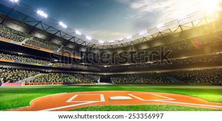 empty baseball stadium 3...