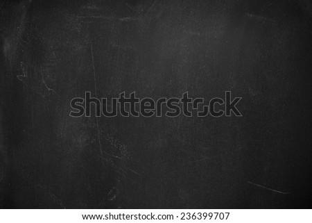 Empty Blackboard Background.