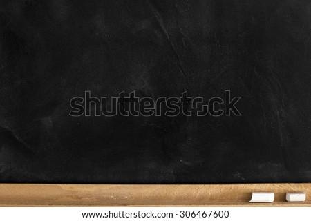 Empty Blackboard./ Empty Blackboard.