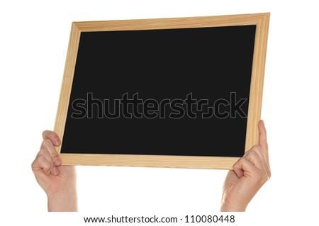 empty blackboard / empty sign
