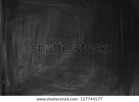 Empty blackboard to put your own text in