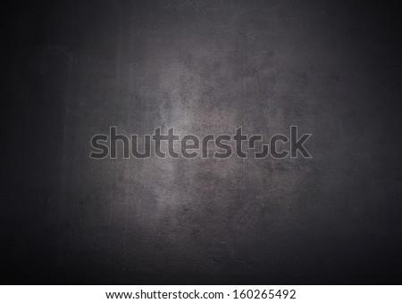 Empty  blank black chalkboard blackboard