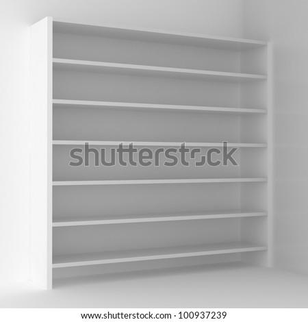 empty bookshelf #100937239