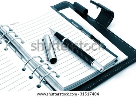 Business Notebook Organizer Empty Business Notebook or