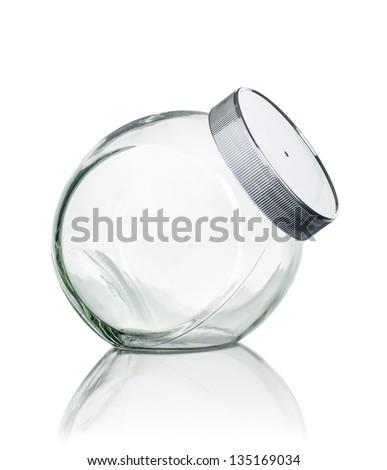 empty candy jar