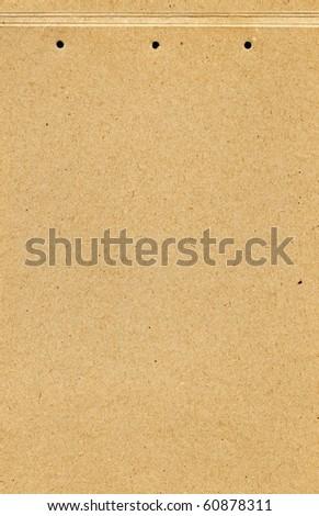 Empty cardboard texture