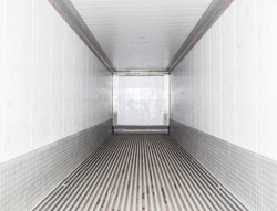 Empty cargo view from inside.