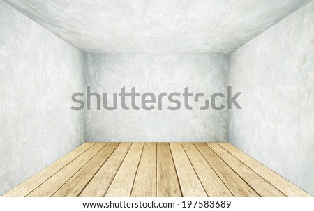 free photos empty cement room in perspective avopix com