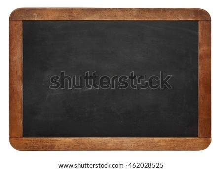Empty Chalk board Background/Blank.Blackboard Background.Blackboard texture. Chalkboard or School board use for background ,backdrop , wallpaper.