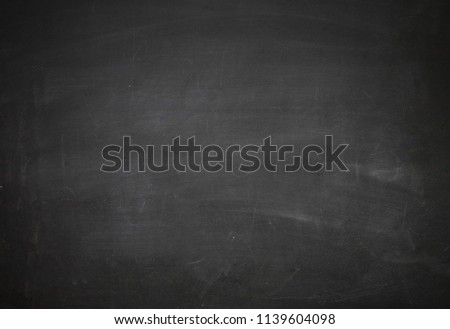 empty chalkboard write concept  3d illustration