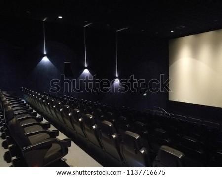 empty cinema hall #1137716675