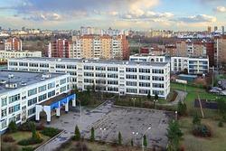 Empty city during coronavirus pandemic. Moscow, Russia