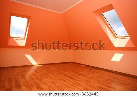 Empty clean interior