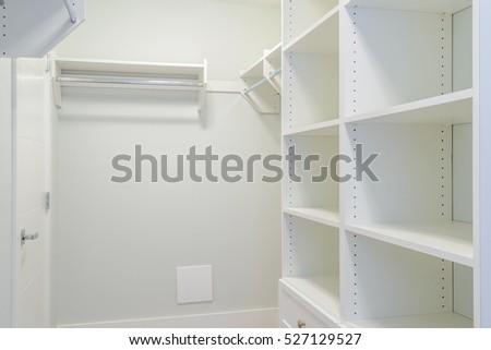 Free photos Empty closet working closet cupboard in bedroom