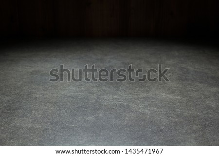 empty concrete background texture surface in front Photo stock ©