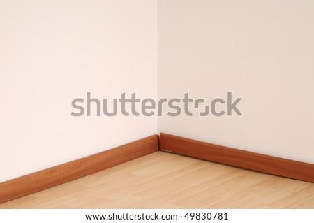 Empty corner.