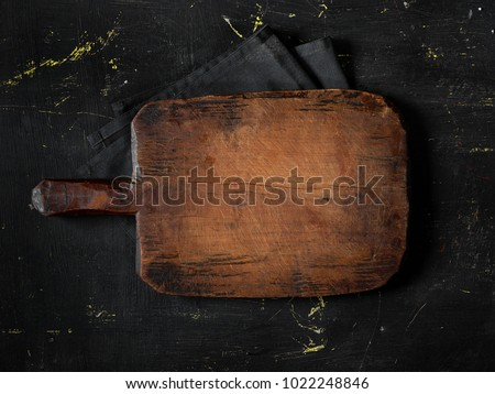 Empty cutting board #1022248846