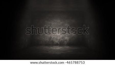 empty dark room background