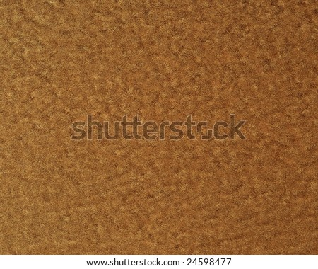 empty doormat with some fine grain in it