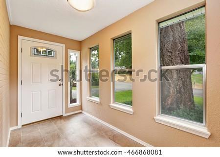empty entryway with tile floor  ...