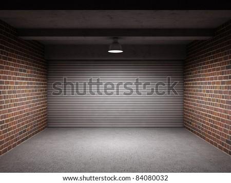 How to Paint a Roll-up Metal Garage Door | eHow.com