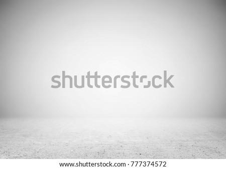 Empty gray product showcase background
