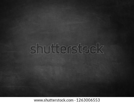 Empty gray school chalkboard background