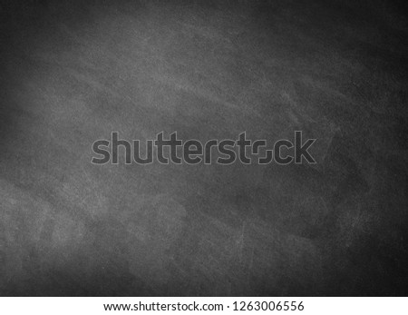 Empty gray school chalkboard background