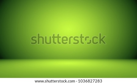 Empty Green Studio well use as background,website template,frame